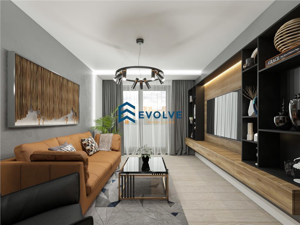 Apartamente noi cu 1 camera in ansamblu rezidential  Tip 1B