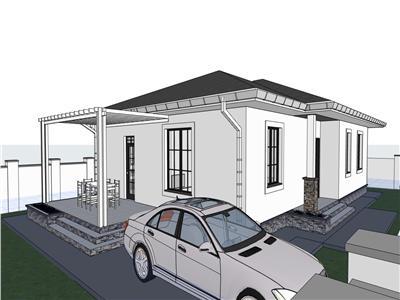 Casa in Breazu cu 4 camere, 500 mp teren