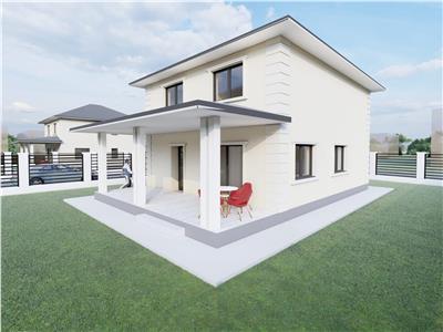 Casa individuala cu 5 camere si 500 mp teren, Valea Adanca