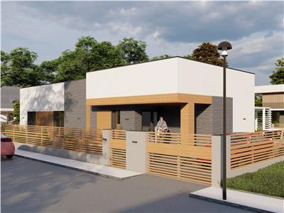 Casa cu arhitectura moderna in Valea Adanca